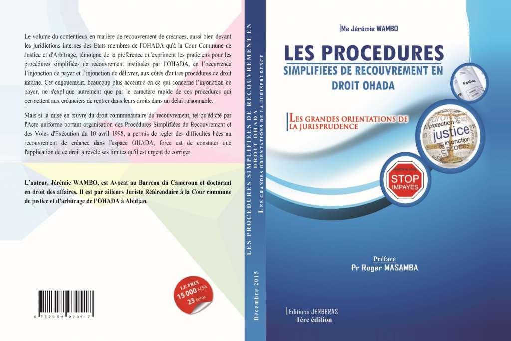 Actualité - Publication de l'ouvrage intitulé « Les ...