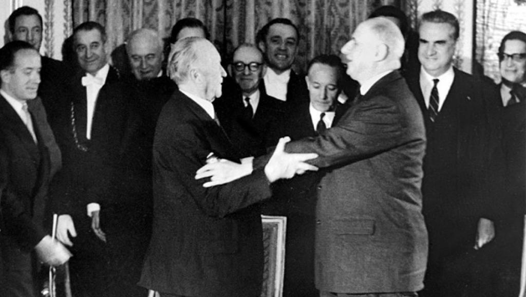 Actualité Vertrag Von Aachen Vom 22 Januar 2019 Frankreich Und